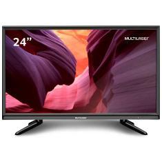 "Imagem de TV LED 24"" Multilaser TL013 1 HDMI PC USB"