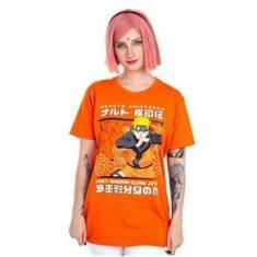 Imagem de Camiseta Naruto Kage Bunshin Laranja 10 Piticas