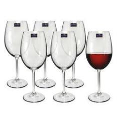 Imagem de Jogo de Taças 06 Peças para Vinho de Cristal Gastro 480ml Bohemia