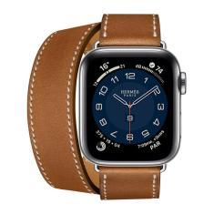 Relógio Apple Watch Hermes Series 5 40Mm Lte Prata Mx3j2