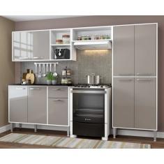 Imagem de Cozinha Completa 1 Gaveta 9 Portas Xangai Plus Multimóveis