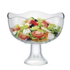 Imagem de Saladeira De Vidro Com Pé Wave 3,8l Ruvolo