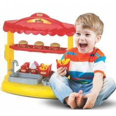 Imagem de Hamburgueria Lanchonete Mini Burguer Brinquedo Magic Toys