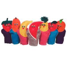 Imagem de Fantoche Frutas 7 Personagens Em Feltro 1285 Ciabrink