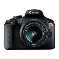 Imagem de Câmera Digital EOS 2000D Canon EF-S 18-55 III Kit 24MP