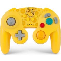 Controle Game Cube sem Fio Pikachu - Power A