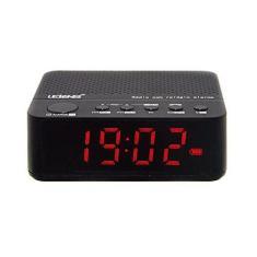 Imagem de Rádio Relógio com Bluetooth atende chamadas celular FM