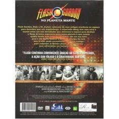 Imagem de DVD Duplo Coleção Super Heróis do Cinema Flash Gordon Marte