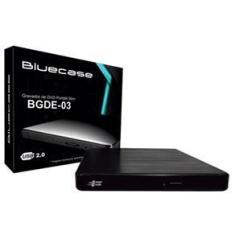 Imagem de Gravador de DVD Externo BLUECASE USB 3.0 BGDE-04