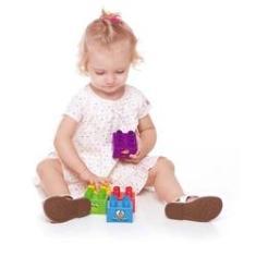 Imagem de Blocos De Montar Galinha Pintadinha Baby Tand 5 Pecas 1938 - Toyster