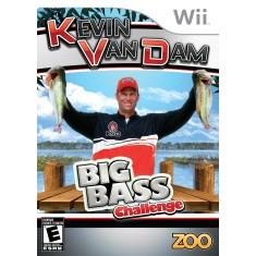Jogo Kevin Van Dam's Big Bass Challenge Wii Nintendo