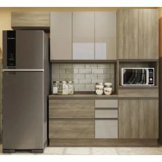 Imagem de Cozinha Compacta 5 Gavetas 9 Portas Maxxi CB343 Kappesberg