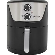 Imagem de Fritadeira Elétrica Sem óleo Suggar Light Fry FT400 Capacidade 4l Inox