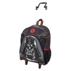 Imagem de Mochila com Rodinhas Escolar Sestini Star Wars 16Y G Darth Vader