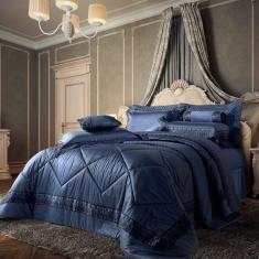 Imagem de Edredom Solteiro Plumasul Château Versailles 400 Fios 160x220