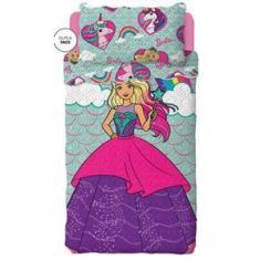Imagem de Colcha Infantil Barbie Reinos Magicos Dupla Face Bouti Lepper
