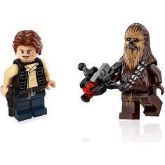 Imagem de LEGO Star Wars Death Star Minifigures - Han Solo & Chewbacca (75159)