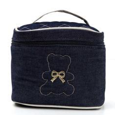 Imagem de Porta Mamadeira Baby Jeans Hug Cor  Marinho