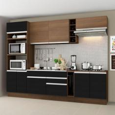 Imagem de Cozinha Completa 2 Gavetas 9 Portas sem Tampo Vicenza Madesa