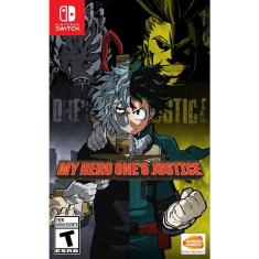 Jogo My hero one`s justice Bandai Namco Nintendo Switch