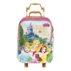 Imagem de Mochila com Rodinhas Escolar Dermiwil Princesas da Disney Cenário 37229