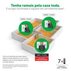 Ramal Sem Fio TS 5121 Intelbras
