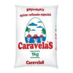Imagem de Açúcar Refinado Caravelas 1kg