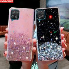 Imagem de Capinha para samsung galaxy a12 a32 a52 glitter lantejoulas capinhas de telefone para samsung a21s
