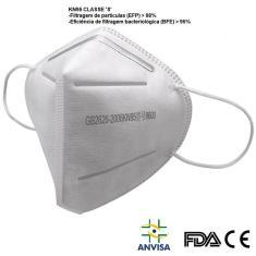 Imagem de Máscara N95 Pff2 C/ Anvisa 5 Camadas FDA CE