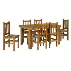 Imagem de Conjunto De Mesa Com 6 Cadeiras Campo Cerejeira