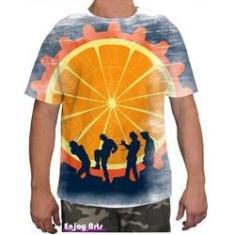 Imagem de Camiseta Camisa Masculina Orange Laranja Mecanica 12
