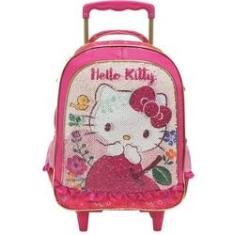 Imagem de Mochila Infantil Hello Kitty Magic Touch Rodinha Gd N 16- Ref 8790 - Xeryus