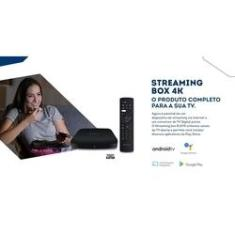 Imagem de Receptor Android TV 4K com Conversor Digital Elsys ETRI02 Streaming Box