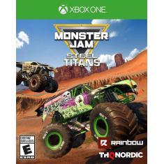 Jogo Monster Jam Steel Titans Xbox One THQ