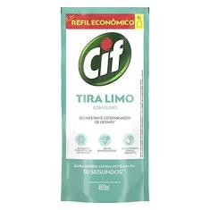 Desinfetante Para Uso Geral Tira-Limo com Cloro Sachê 450Ml Refil Econômico, Cif
