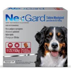 Antipulgas E Carrapatos Nexgard Para Caes De 25 a 50Kg Com 1 Tablete