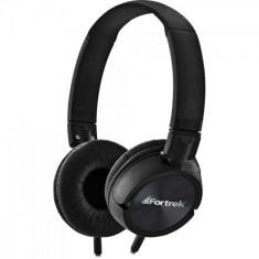 Headphone com Microfone Fortrek HMF-501BK Gerenciamento de chamadas