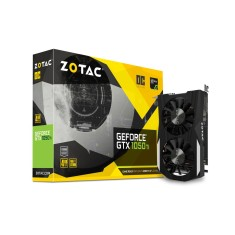 Placa de Video NVIDIA GeForce GTX 1050 Ti 4 GB GDDR5 128 Bits Zotac ZT-P10510B-10L