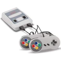 Imagem de Video Game Super Mini Snes 2 Controles Com 600 Jogos