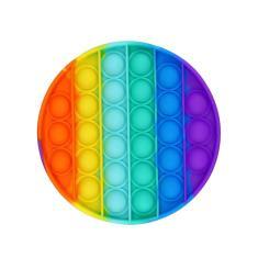 Imagem de Brinquedo Infantil Aperta Pop Arco-íris Sortido Toyng 44054