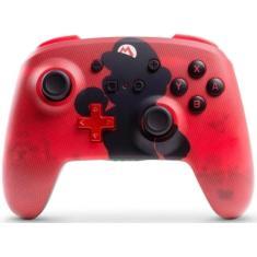 Controle Nintendo Switch sem Fio Mario Silhouette - Power A