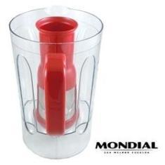 Imagem de Copo Cristal  Completo C/ Filtro Do Liquidificador Mondial L-1000 R, L-1000 Ri E L-1000 Ri