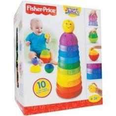 Imagem de FISHER-PRICE Torre de Potinhos Coloridos Mattel W4472