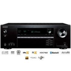 Imagem de Receiver Onkyo TX-SR393 5.2 Canais Bluetooth Dolby Atmos 4K HDR Zona B