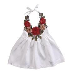 Imagem de Vestido Infantil Menina Frente Unica Festa Ano Novo Casament