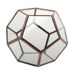 Imagem de Caixa De Terrário Geométrico De Vidro Transparente Plantador De Plantas Suculentas diy
