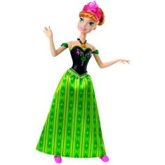 Imagem de Boneca Frozen Anna Musical CJJ08 Mattel