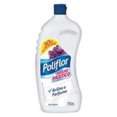 Cera Liquida Brilho Pratico 750ml Incolor com 30% de Desconto 1 UN Poliflor