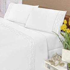 Imagem de Edredom Quality Casa Dona Dupla Face Casal Queen 240x210cm Bege
