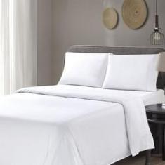 Imagem de Jogo de cama Queen 600 fios 100% algodão 4 Peças Olívia - Orb